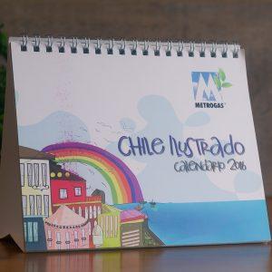 Calendario Chile Ilustrado