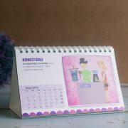 Calendario Valores en el Trabajo