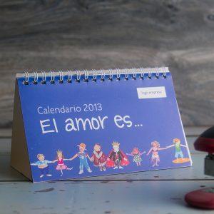 """Calendario """"El Amor es…"""""""