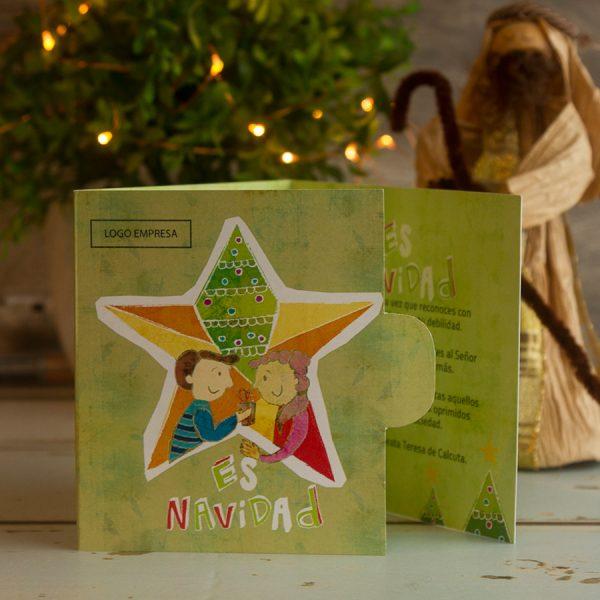 Porta Giftcard Navidad