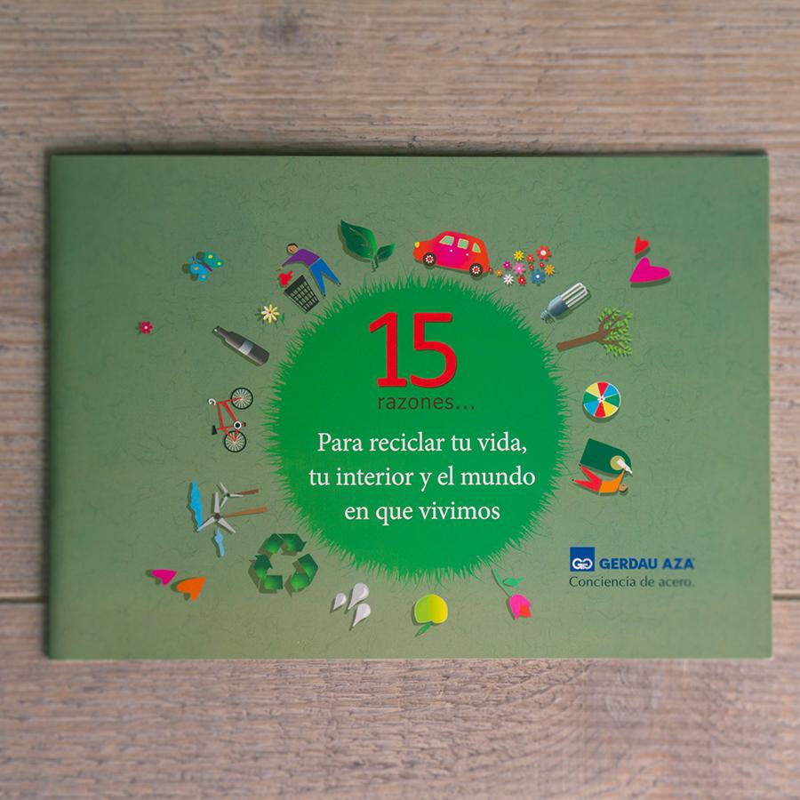 """Libro """"15 razones para Reciclar tu Vida"""""""
