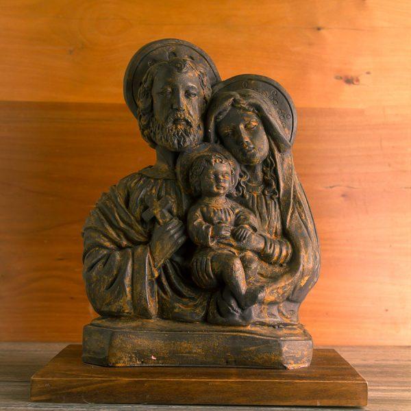 Escultura Sagrada Familia pequeña