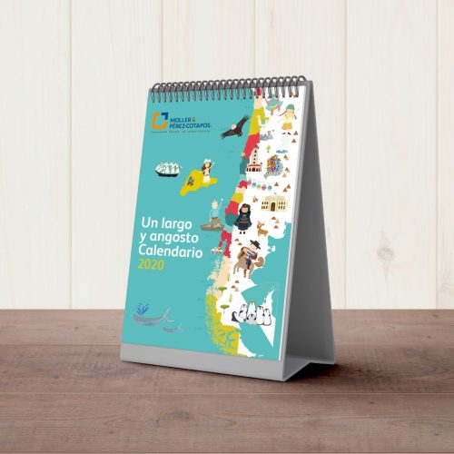 Free Calendar Mockup 2019 (003)